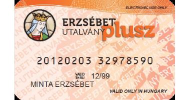 Erzsébet kártya