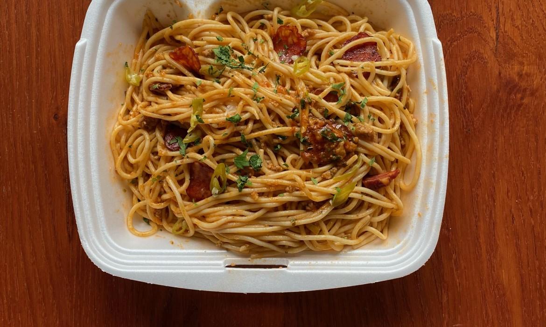 Magyaros spagetti